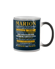 MARION - COMPLETELY UNEXPLAINABLE Color Changing Mug thumbnail