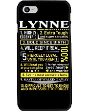Lynne - Sweet Heart And Warrior Phone Case thumbnail