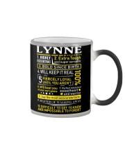Lynne - Sweet Heart And Warrior Color Changing Mug thumbnail