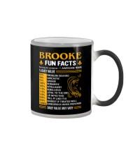 Brooke Fun Facts Color Changing Mug thumbnail