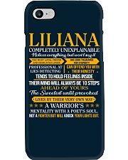 LILIANA - COMPLETELY UNEXPLAINABLE Phone Case thumbnail