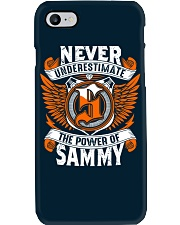 NEVER UNDERESTIMATE THE POWER OF SAMMY Phone Case tile