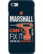If Marshall Cant Fix It - We Are All Screwed Phone Case thumbnail