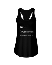 Julie - Definition Ladies Flowy Tank thumbnail