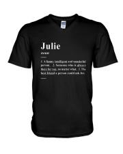 Julie - Definition V-Neck T-Shirt thumbnail