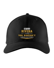 RIVERA - Thing You Wouldnt Understand Embroidered Hat front
