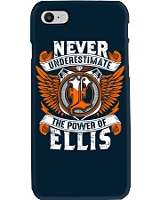 NEVER UNDERESTIMATE THE POWER OF ELLIS Phone Case thumbnail