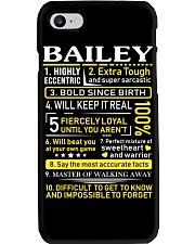 Bailey - Sweet Heart And Warrior Phone Case thumbnail