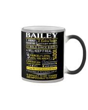 Bailey - Sweet Heart And Warrior Color Changing Mug thumbnail