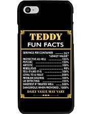 Teddy fun facts Phone Case thumbnail