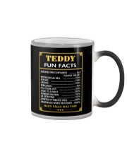 Teddy fun facts Color Changing Mug thumbnail