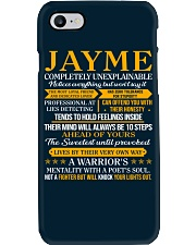 JAYME - COMPLETELY UNEXPLAINABLE Phone Case thumbnail