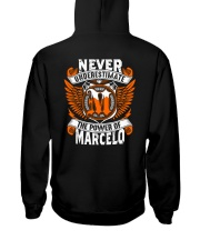 NEVER UNDERESTIMATE THE POWER OF MARCELO Hooded Sweatshirt thumbnail