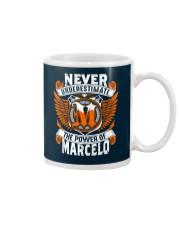 NEVER UNDERESTIMATE THE POWER OF MARCELO Mug thumbnail