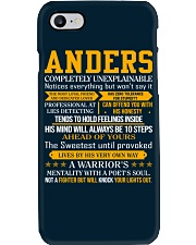 Anders - Completely Unexplainable Phone Case thumbnail