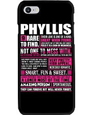 PHYLLIS RARE TO FIND Phone Case thumbnail
