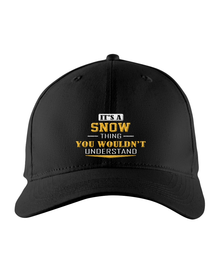 SNOW - Thing You Wouldnt Understand Embroidered Hat