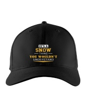 SNOW - Thing You Wouldnt Understand Embroidered Hat front