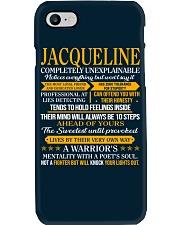 JACQUELINE - COMPLETELY UNEXPLAINABLE Phone Case thumbnail