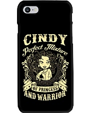 PRINCESS AND WARRIOR - Cindy Phone Case tile