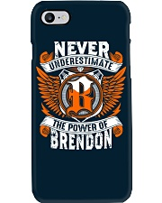 NEVER UNDERESTIMATE THE POWER OF BRENDON Phone Case thumbnail