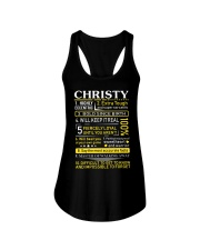Christy - Sweet Heart And Warrior Ladies Flowy Tank thumbnail