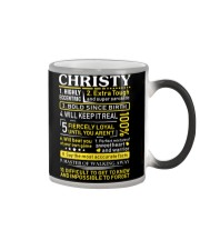 Christy - Sweet Heart And Warrior Color Changing Mug thumbnail