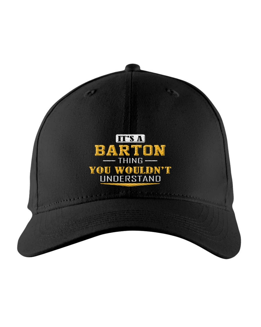 BARTON - Thing You Wouldnt Understand Embroidered Hat