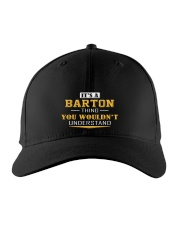 BARTON - Thing You Wouldnt Understand Embroidered Hat front