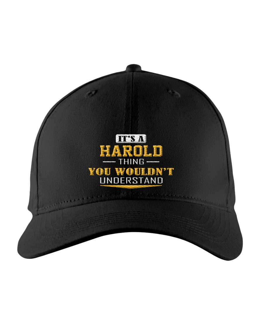 HAROLD - THING YOU WOULDNT UNDERSTAND Embroidered Hat