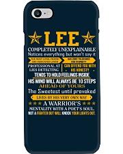 Lee - Completely Unexplainable Phone Case thumbnail