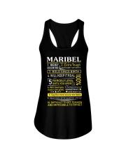 Maribel - Sweet Heart And Warrior Ladies Flowy Tank thumbnail