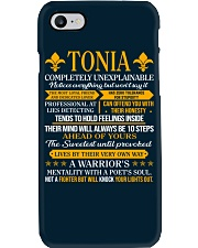 TONIA - COMPLETELY UNEXPLAINABLE Phone Case thumbnail