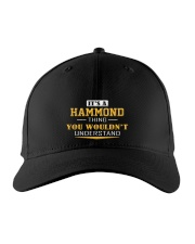HAMMOND - Thing You Wouldnt Understand Embroidered Hat front