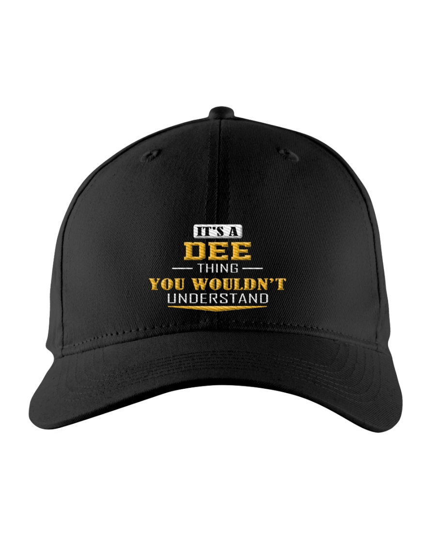 Dee - Thing You Wouldnt Understand Embroidered Hat