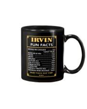 Irvin fun facts Mug thumbnail