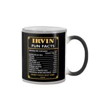 Irvin fun facts Color Changing Mug thumbnail