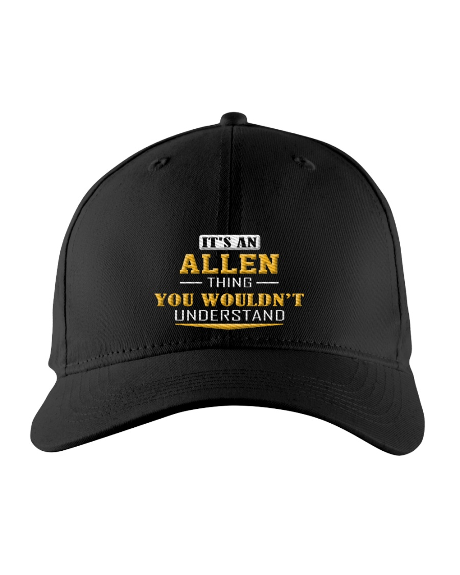 ALLEN - THING YOU WOULDNT UNDERSTAND Embroidered Hat
