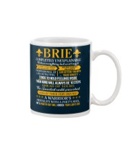 BRIE - COMPLETELY UNEXPLAINABLE Mug thumbnail