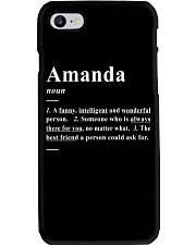 Amanda - Definition Phone Case thumbnail