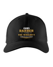 BARBER - Thing You Wouldnt Understand Embroidered Hat front