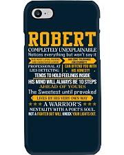 Robert - Completely Unexplainable Phone Case thumbnail