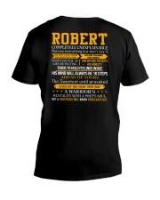 Robert - Completely Unexplainable V-Neck T-Shirt thumbnail