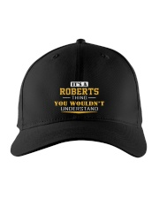 ROBERTS - Thing You Wouldnt Understand Embroidered Hat front