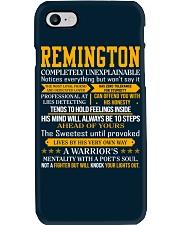 Remington - Completely Unexplainable Phone Case thumbnail
