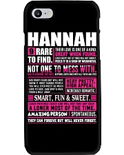HANNAH - 9 RARE TO FIND Phone Case tile
