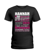 HANNAH - 9 RARE TO FIND Ladies T-Shirt tile