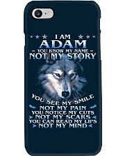 Adam - You dont know my story Phone Case thumbnail
