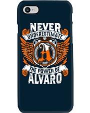 NEVER UNDERESTIMATE THE POWER OF ALVARO Phone Case thumbnail