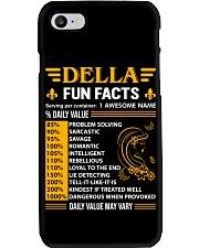 Della Fun Facts Phone Case thumbnail